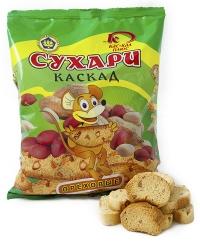 Сухари Каскад ореховые